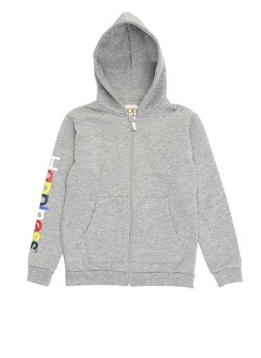 Happiness Sweatshirt Gri